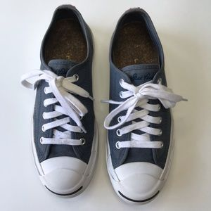 Converse Jack Purcell Blue Shoes